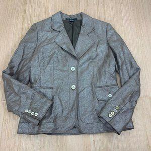 Ellen Tracy Size 8 Ladies Suit Jacket Blazer